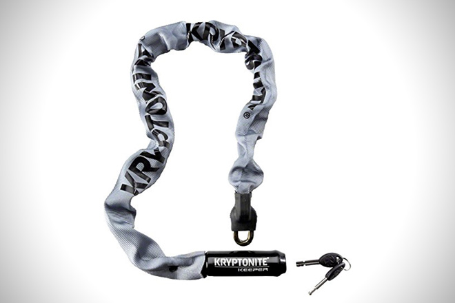 Kryptonite Keeper Integrated Chain Bicycle Lock
