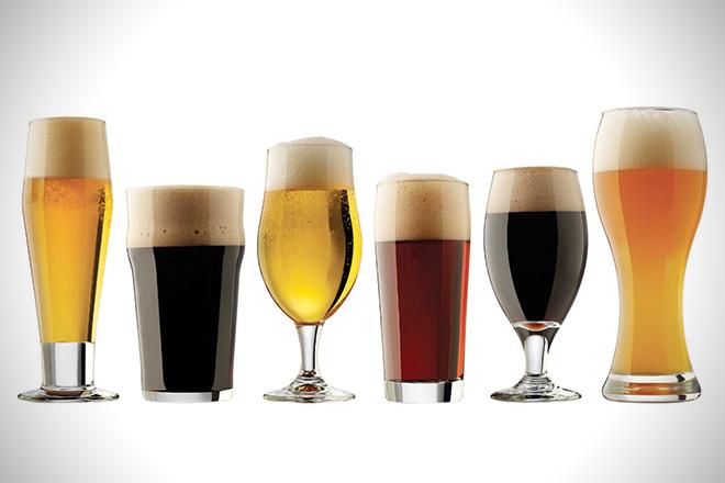 Libbey Craft Brew Sampler Clear Beer Glass Set