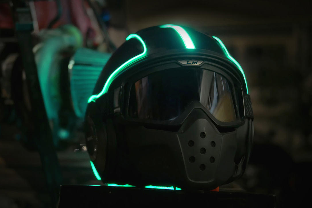Lightmode S-Series Helmet Kit 5