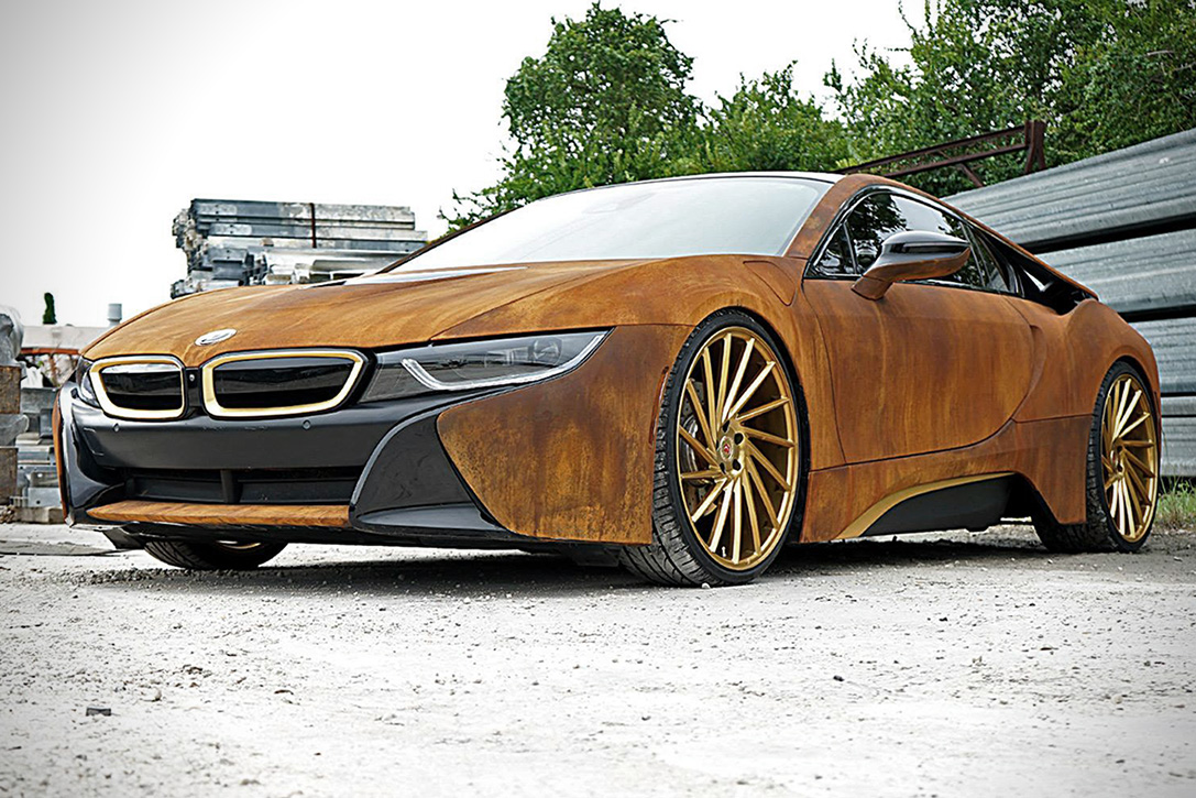 Bmw I8 Rust Wrap Custom By Metrowrapz Hiconsumption