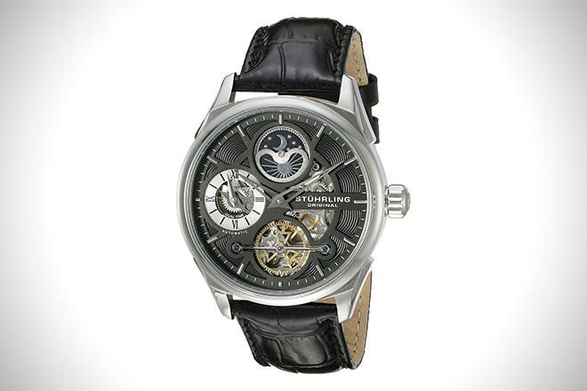 Stuhrling Original 657.02 Delphi Automatic Watch