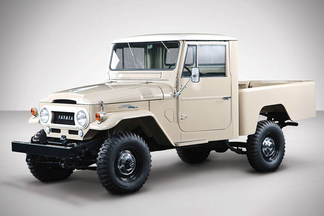 Auction Block: 1964 Toyota FJ45 Land Cruiser Pickup | HiConsumption