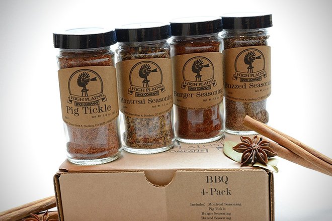 BBQ 4 Pack Spice Gift Set