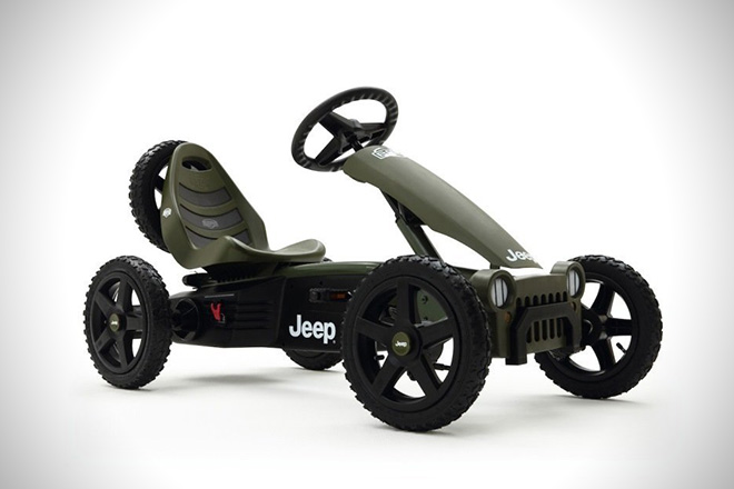 Berg Toys Compact Jeep Adventure Pedal Car