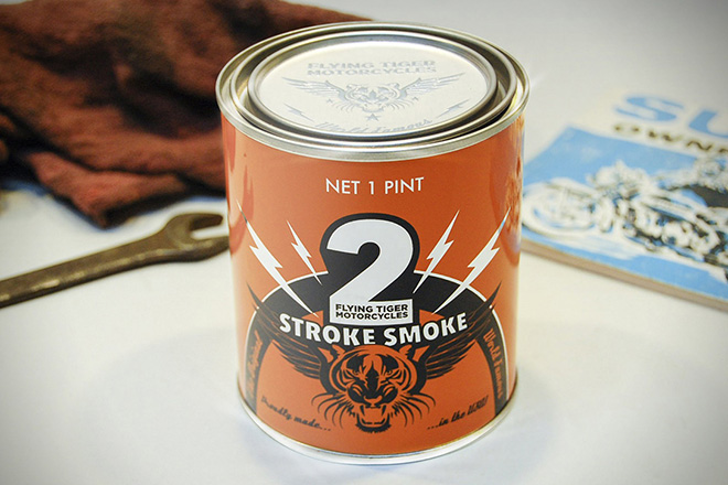 Flying Tiger Two Stroke Smoke Candle