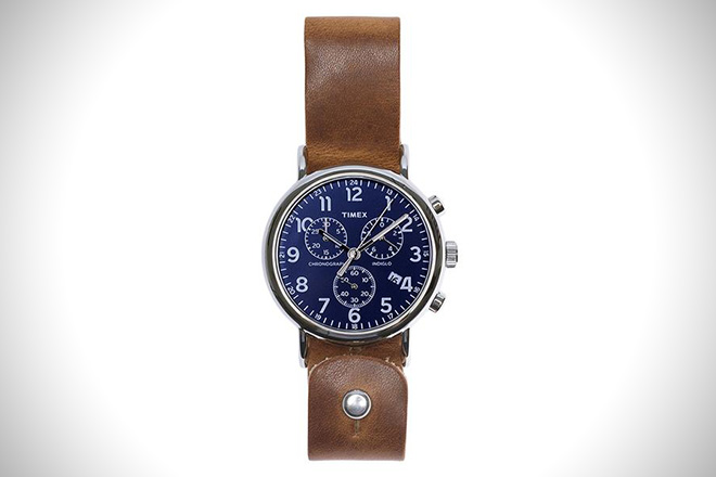 Form Function Form Leather Timex Weekender Chronograph