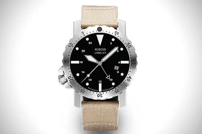 Kobold Lengley GMT Watch
