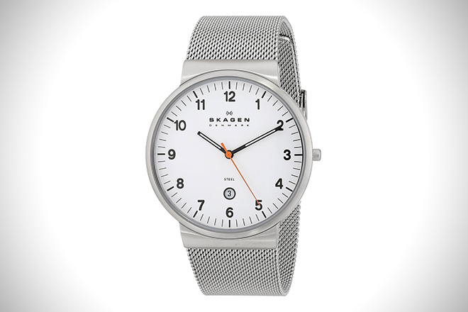 Skagen Klassik Three Hand Date Watch
