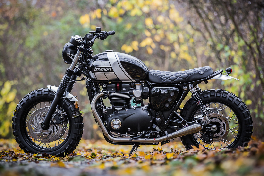 Triumph T120 Bonneville By Down And Out Cafe Racers 2