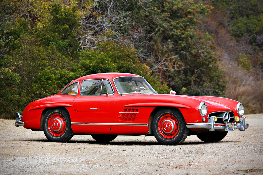 auction block 1955 mercedes benz 300sl gullwing hiconsumption. Black Bedroom Furniture Sets. Home Design Ideas