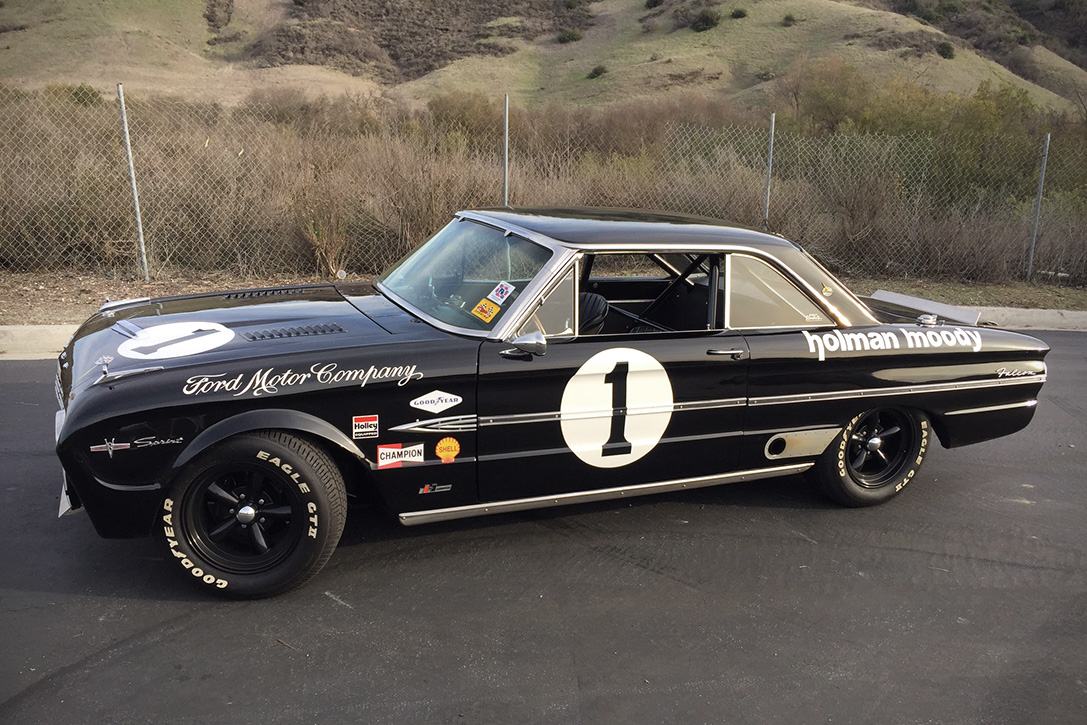 1962 ford galaxie 500 racer