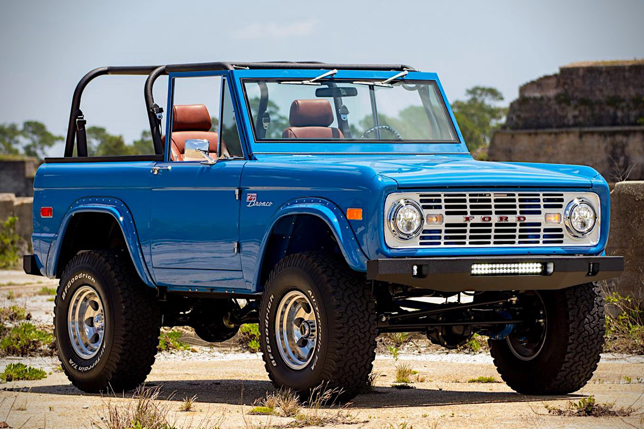 2017 Ford Bronco >> Auction Block: 1976 Ford Bronco | HiConsumption