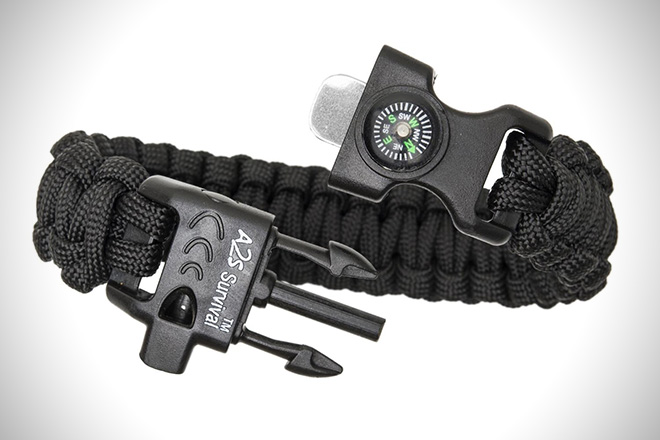 A2s Survival K2 Peak Paracord Bracelet