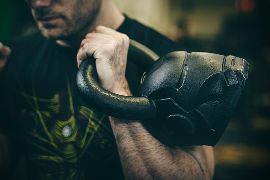Iron Man Kettlebell 1