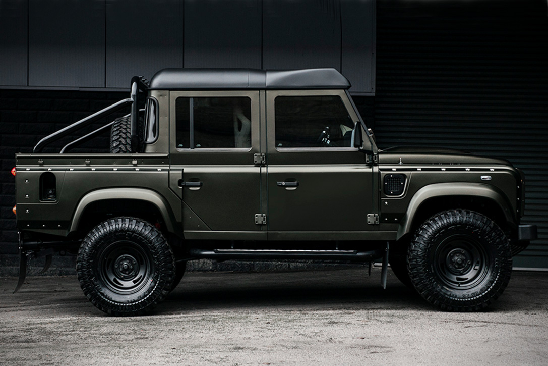 Range Rover Pickup >> Land Rover Defender Pickup By Project Kahn | HiConsumption