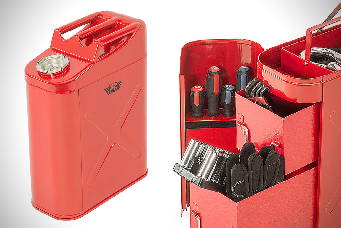 Rampage Fuel Can Tool Box