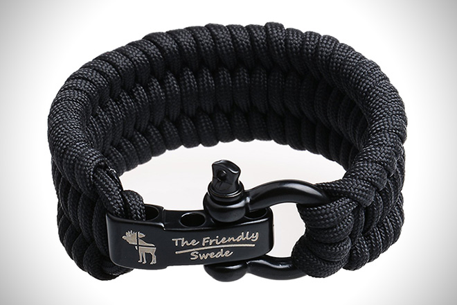 The Friendly Swede Trilobite Paracord Bracelet