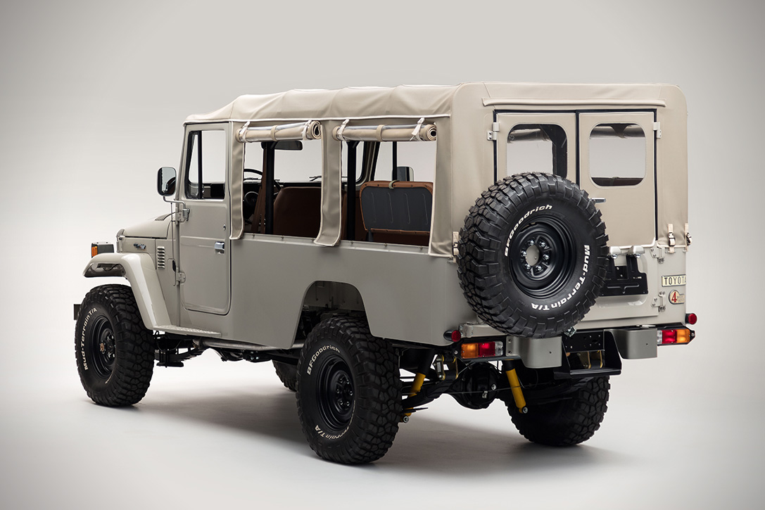 1981 Toyota Land Cruiser Fj45 Troopy Hiconsumption