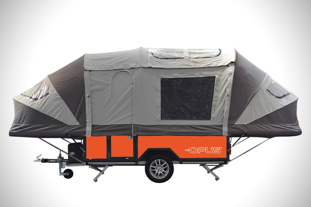 air opus inflating camper trailer hiconsumption. Black Bedroom Furniture Sets. Home Design Ideas