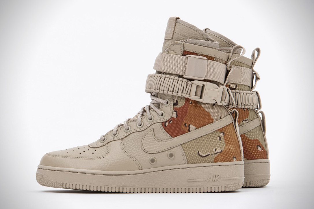 c2cb47281 Nike Special Field Air Force 1 Desert Camo | HiConsumption