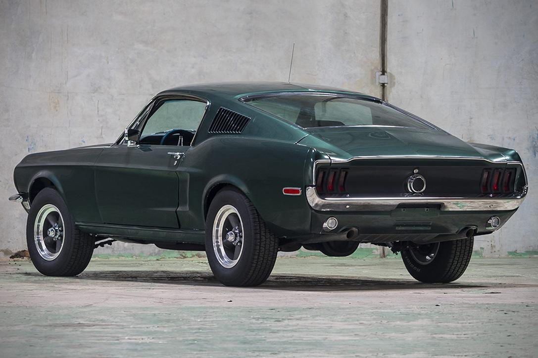 Auction Block 1968 Ford Mustang Bullitt Replica
