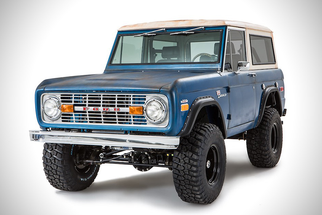 New Ford Bronco 2017 >> 1969 Ford Bronco 'Patina' By CFB | HiConsumption