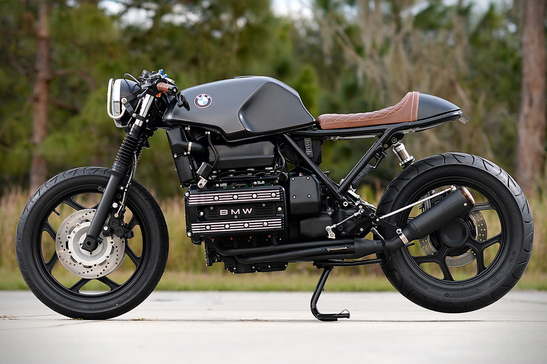 bmw k100rs cafe racer by hageman motorcycles hiconsumption. Black Bedroom Furniture Sets. Home Design Ideas