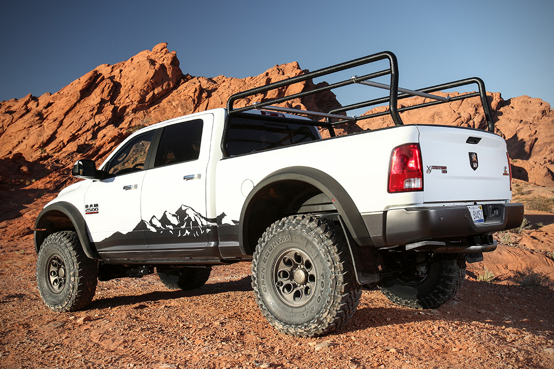 Dodge Ram Prospector Xl By Aev on Dodge Ram Off Road Bumper