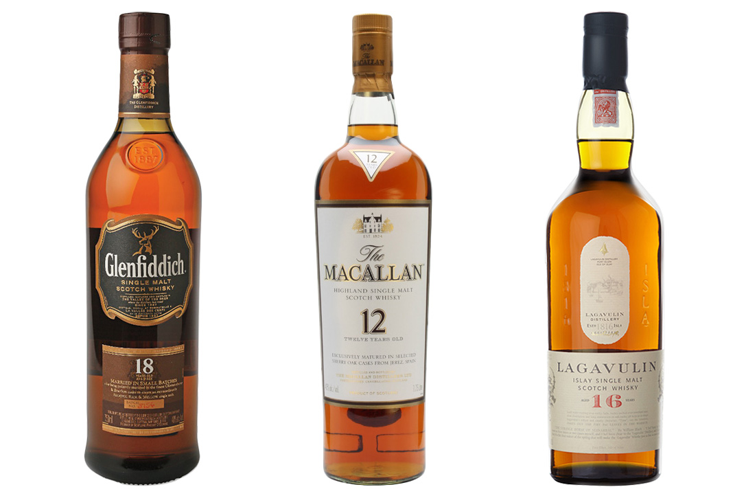 what is single malt scotch made of