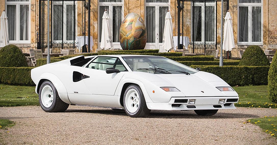 1987 Lamborghini Countach 5000 Qv By Bertone Hiconsumption