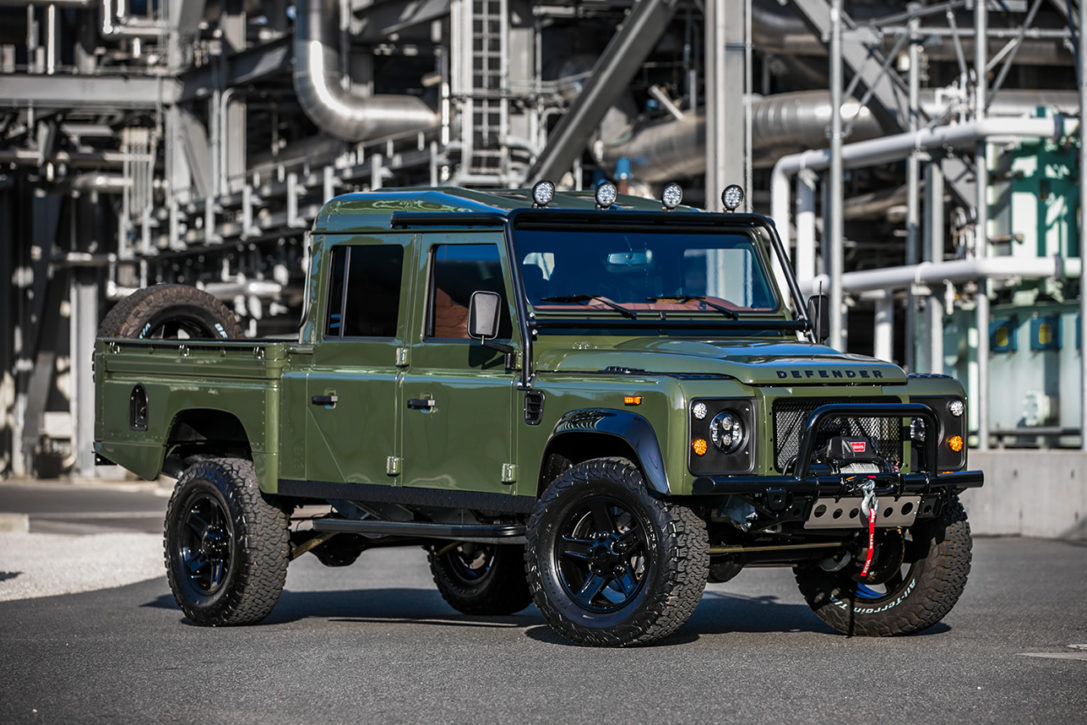 Land Rover Defender The Huntress By Ecd