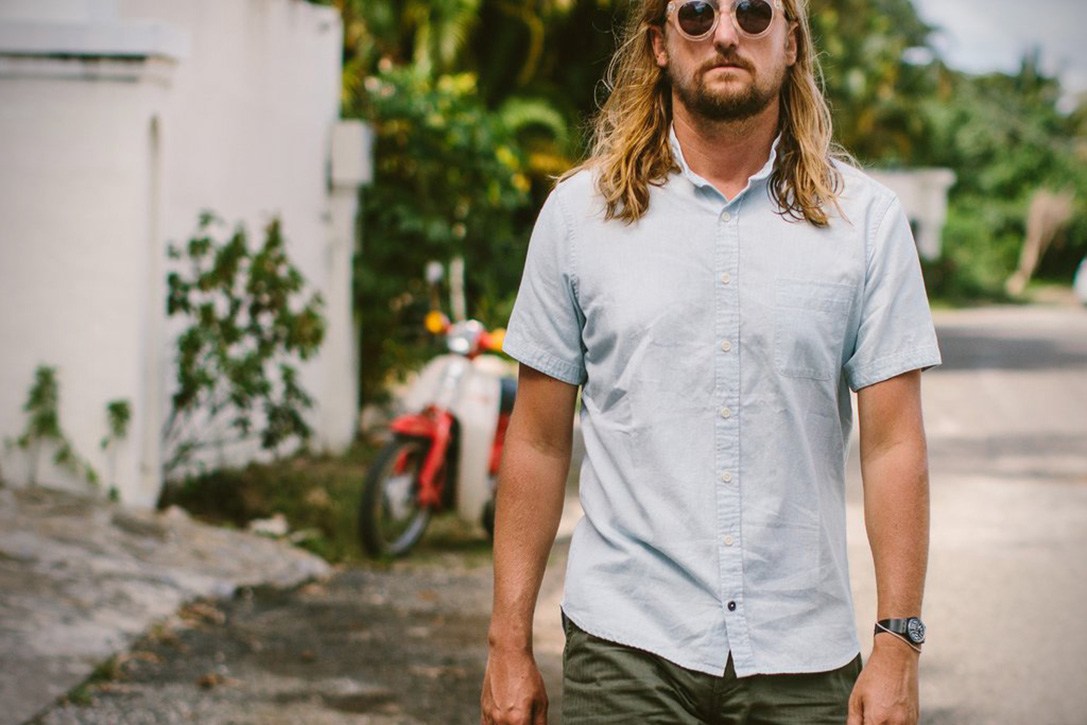 Summer Style 12 Best Collarless Shirts For Men Hiconsumption
