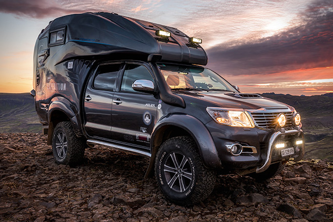Toyota Tundra Diesel >> Toyota Hilux Expedition V1 Camper | HiConsumption