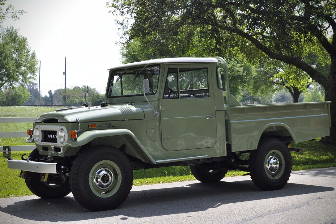 Toyota Land Cruiser Fj45 Auction Block 1971 Hiconsumption Purchase 40000