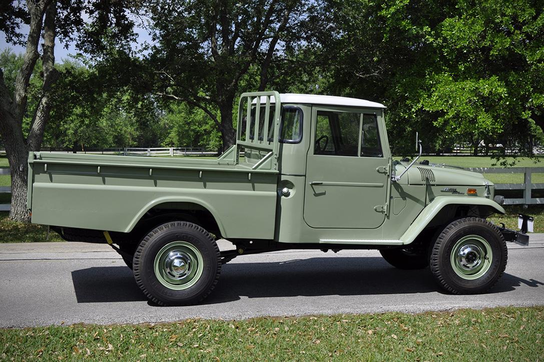 Auction Block: 1971 Toyota Land Cruiser FJ45 | HiConsumption