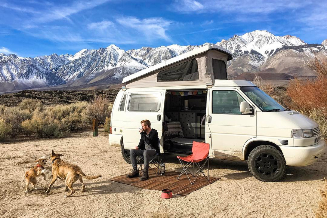 how to live a nomad life in a van
