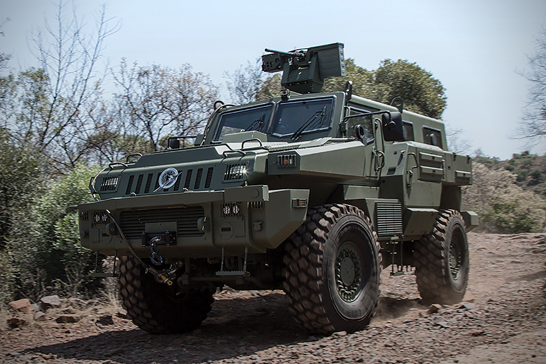 Marauder Mine-Proof Armored Vehicle | HiConsumption
