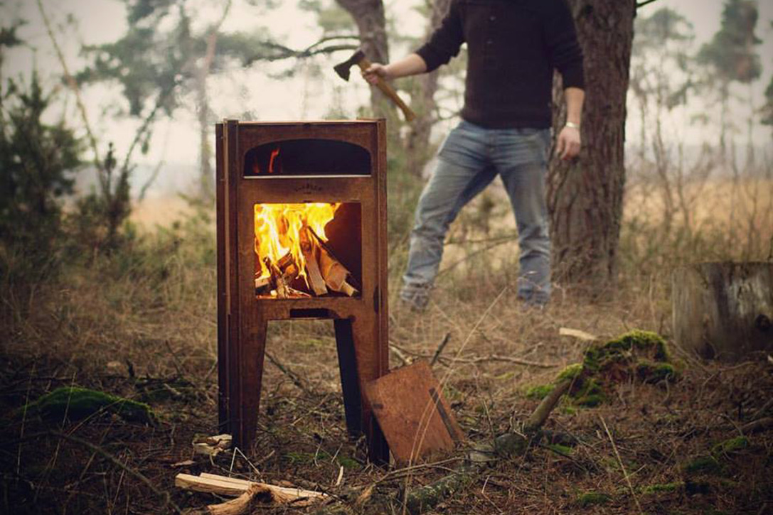 Stadler Made Outdoor Pizza Oven Hiconsumption