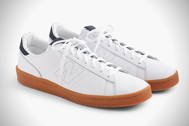 New Balance Leather Tennis Shoes