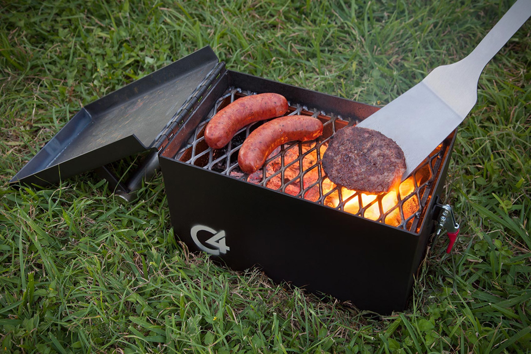 The C4 Portable Grill Hiconsumption