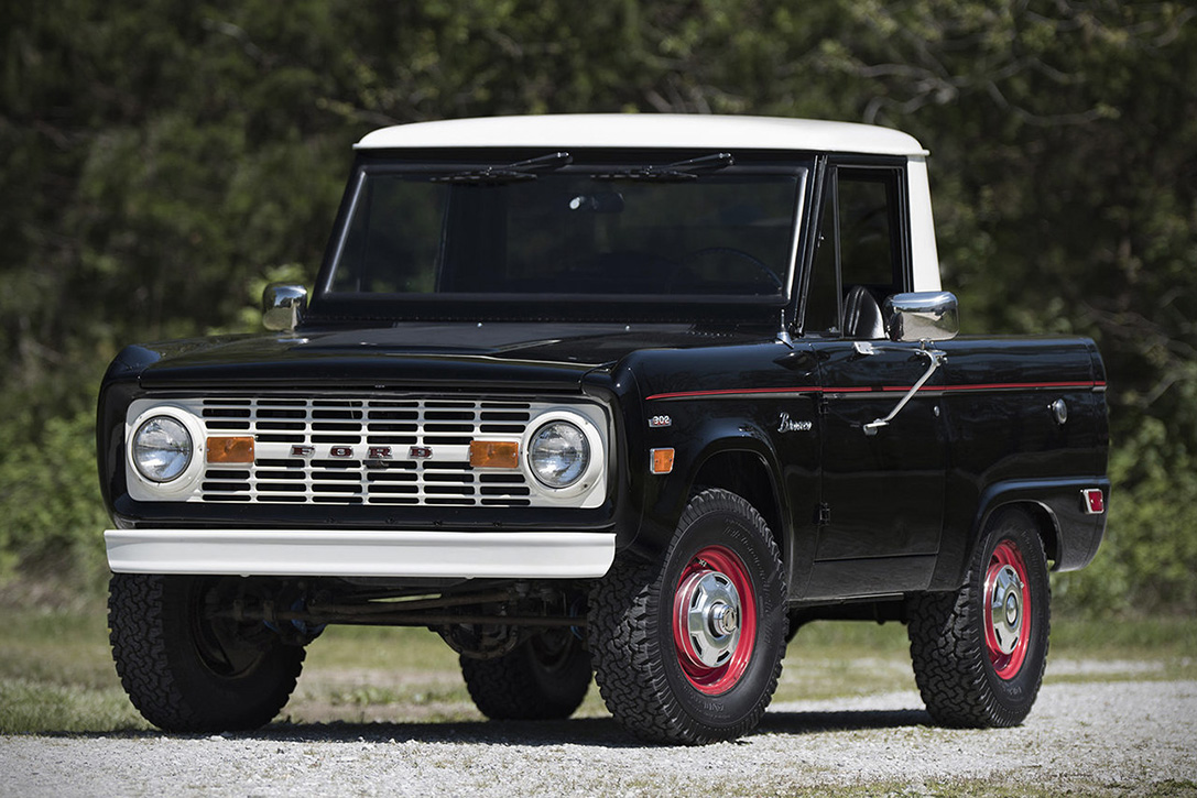 Auction Block 1969 Ford Bronco Half Cab Hiconsumption Ranger Learn More Here Tags