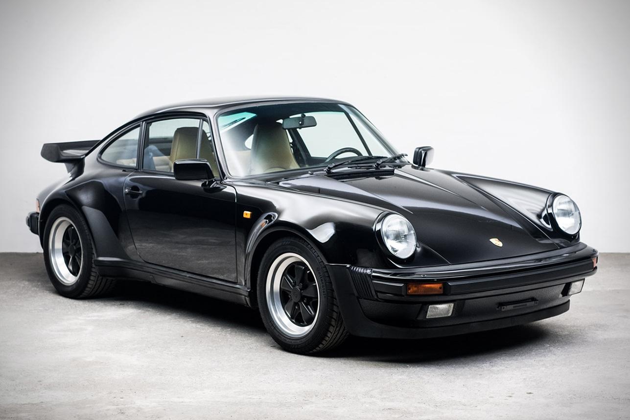 auction block: 1989 porsche 911 turbo | hiconsumption