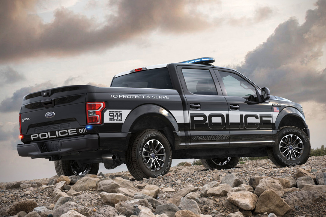 2018 Ford F-150 Police Responder | HiConsumption