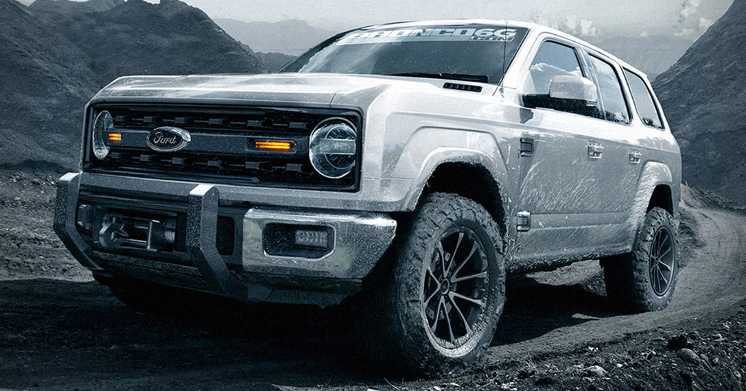 New Ford Bronco >> 2020 Ford Bronco 4-Door Concept | HiConsumption