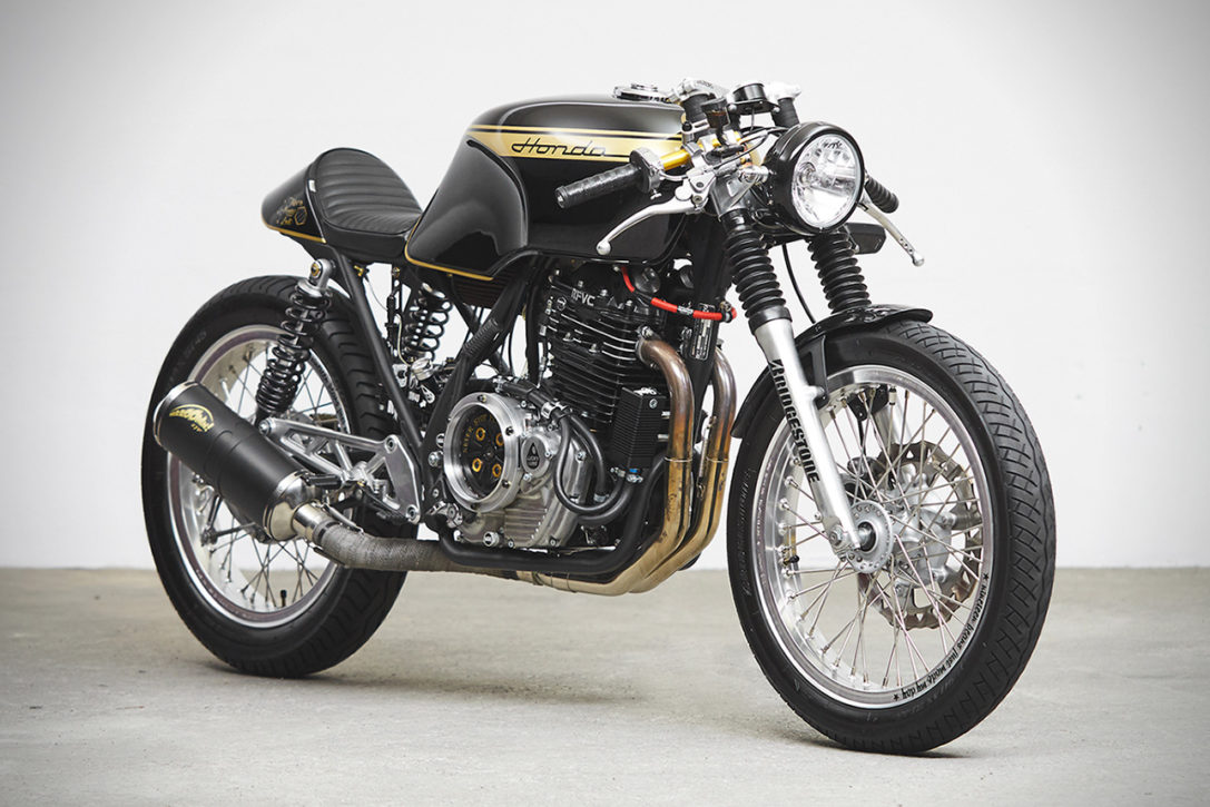 Honda Gb500 Tt Cafe Racer By 271 Design Hiconsumption