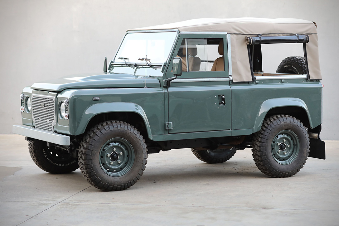 Land Rover Defender D90 Keswick Green Hiconsumption