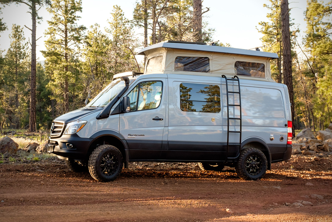 Sportsmobile Mercedes Benz Sprinter 4x4 Hiconsumption