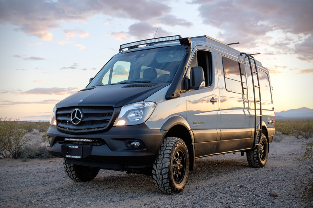 Sportsmobile mercedes benz sprinter 4x4 hiconsumption for Sprinter wohnmobilausbau