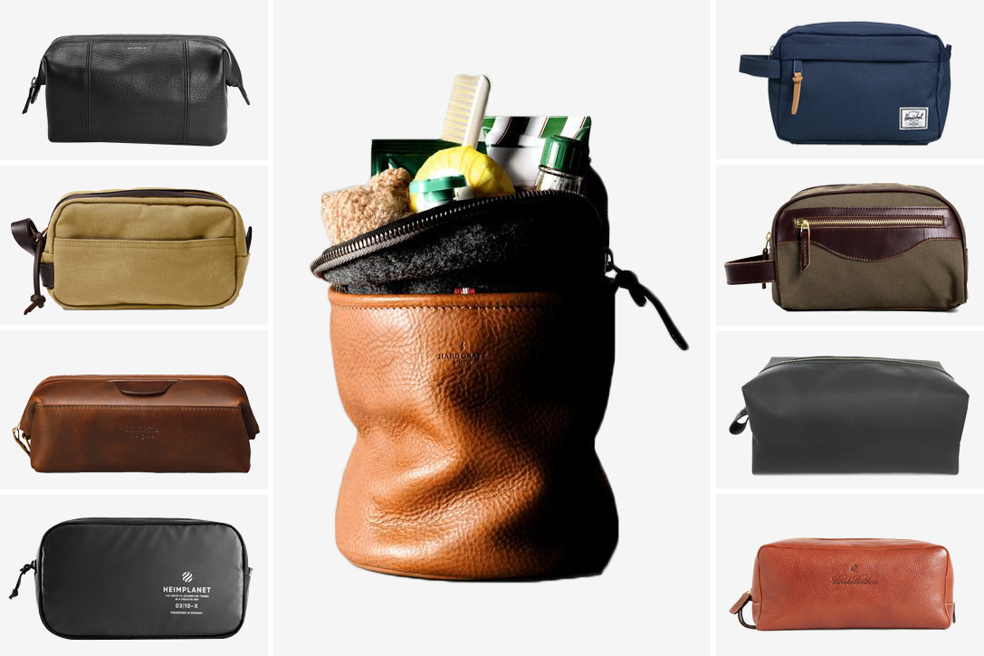 Globetrotting  25 Best Dopp Kits For Men  e203000ce6f8d