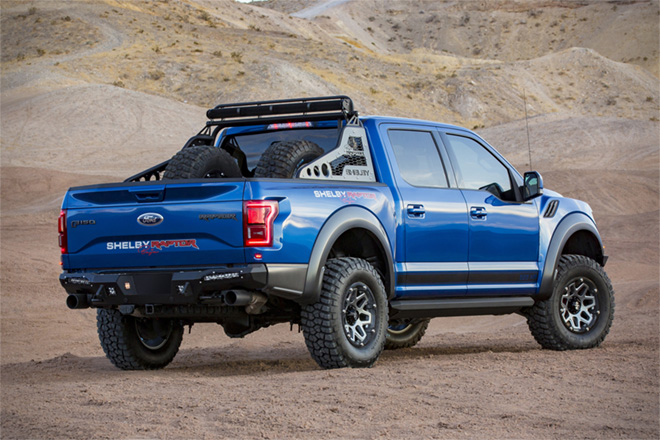Ford F150 Wheels >> 2018 Ford F-150 Shelby Baja Raptor | HiConsumption